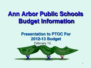 Ann Arbor Public Schools  Budget Information
