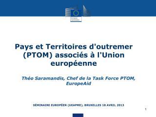 Séminaire  européen (UEAPME), Bruxelles 18  avril 2013