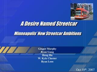 A Desire Named Streetcar