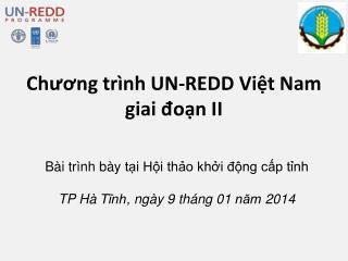 Chương trình UN-REDD Việt Nam giai đoạn II