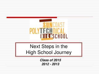 Class of 2015 2012 - 2013