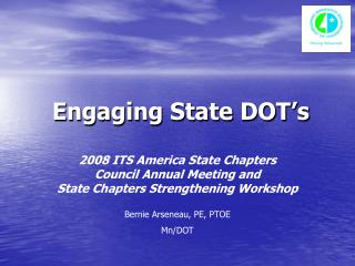 Engaging State DOT's