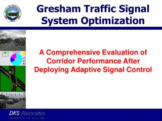 Gresham Traffic Signal System Optimization