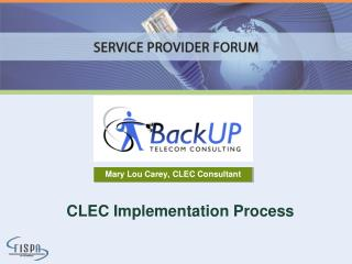 CLEC Implementation Process