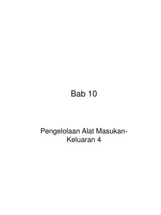 Bab 10