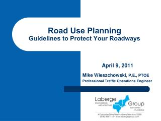 Road Use Planning Guidelines to Protect Your Roadways
