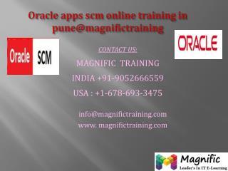 oracle apps scm online training in denmark,sweden