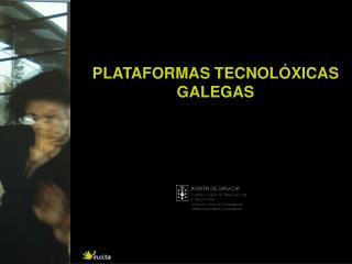PLATAFORMAS TECNOLÓXICAS GALEGAS