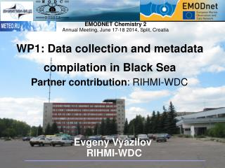 Evgeny Vyazilov  RIHMI-WDC