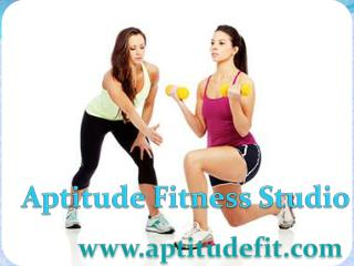 Aptitude Fit Best Zumba classes in Delhi