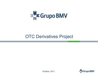OTC Derivatives Project
