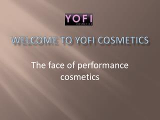 Dance Makeup at Yofi Cosmetics