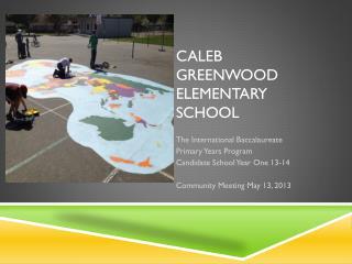 Caleb Greenwood  Elementary School