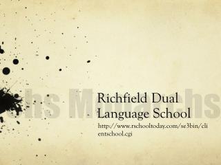 Richfield Dual  Language School