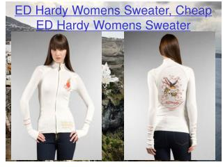 ED Hardy Womens Sweater