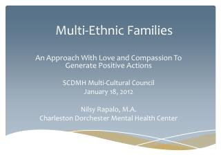 Multi-Ethnic Families