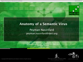 Anatomy of a Semantic Virus