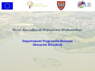 Departament Programów Rozwoju  Obszarów Wiejskich