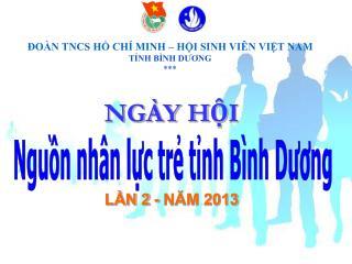 NGÀY HỘI LẦN 2 - NĂM 2013