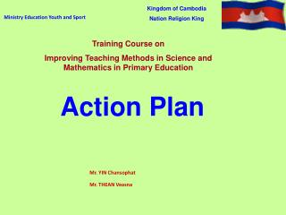 Ministry Education Youth and Sport