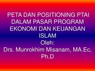 SIGNIFIKANSI EKONOMI ISLAM