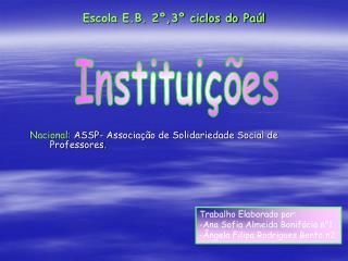 Escola E.B. 2º,3º ciclos do Paúl
