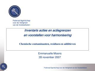 Emmanuelle Moons 28 november 2007