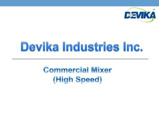 Commercial Mixer(high speed)