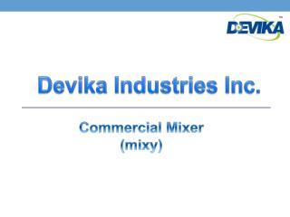 Commercial Mixer (mixy)