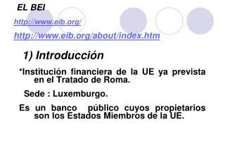 EL BEI eib/ eib/about/index.htm