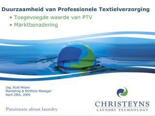 Duurzaamheid van Professionele Textielverzorging