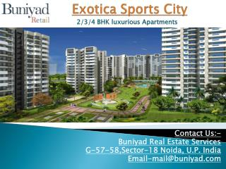 Exotica Sports City - Heaven for Sports Buff