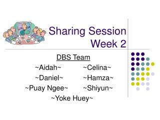 Sharing Session Week 2