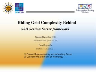 Hiding Grid Complexity Behind
