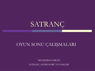 SATRAN�