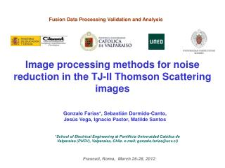 Image processing methods for noise reduction in the TJ-II Thomson Scattering images