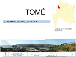 COMUNA DE TOMÉ, REGIÓN DEL BIOBIO