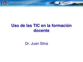 Uso de las TIC en la formación docente