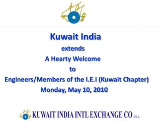 Kuwait India                                     extends