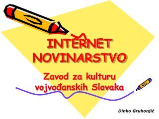 INTERNET NOVINARSTVO