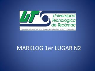 MARKLOG 1er LUGAR N2