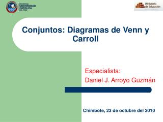 Conjuntos: Diagramas de Venn y Carroll