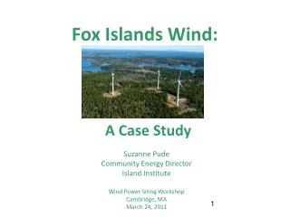 Fox Islands Wind:
