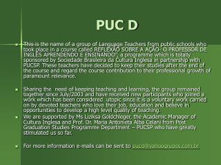 PUC D