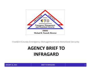 agency brief to  INFRAGARD