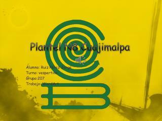Plantel N8 Cuajimalpa