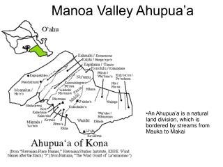 Manoa Valley Ahupua'a
