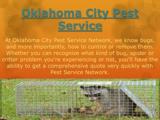 Oklahoma City Pest Service