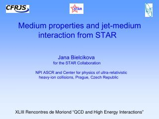 Medium properties and jet-medium interaction from STAR