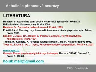 MUDr. David Holub